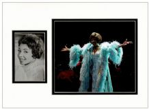 Shirley Bassey Autograph Signed Photo Display